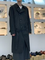 glamb / Long trench coat / Black