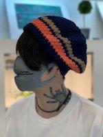 glamb / Knit tam beret / Navy