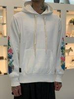glamb×JOJO / Giorno Giovanna's stand hoodie / White