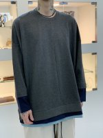 SUS / triple layer cut sew LSV / Charcoal
