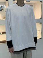 SUS / triple layer cut sew LSV / White