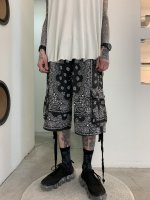 VICTIM×HAV-A-HANK / PAISLEY SHORTS / BLACK