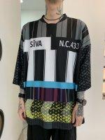 【予約商品】SIVA / FOOTBALL WIDE SHIRTS / 9月下旬発売予定  /  21年 6/13 〆切