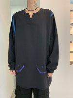 【予約商品】SIVA / DOLMAN SEAM-LINE WIDE L-SLEEVE / 10月下旬発売予定 / 21年 6/13 〆切