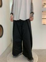 【予約商品】ANREALAGE / 150% CHINO PANTS / Black ※8月上旬入荷予定