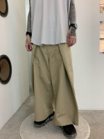 ANREALAGE / 150% CHINO PANTS / Beige