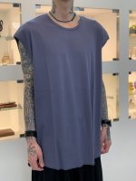 LAD MUSICIAN / 40/1 RIB BIG TANK TOP / SLATE BLUE