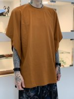 SUS / dolman poncho cut sew / Orange