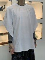 SUS / dolman poncho cut sew / White
