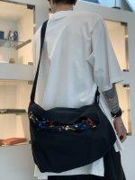 rehacer / Tech Cover Shoulder Bag / Black