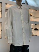 VOAAOV / Organic Cotton Broad Big shirt / Kinari