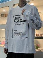 GARNI / Origin Box L/S Tee