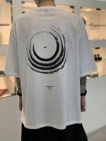 SUS / big pocket tee bird circle / White
