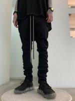 A.F ARTEFACT / Stretch denim Sarouel skinny / Black