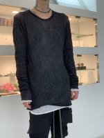 A.F ARTEFACT / Layered Long Sleeve / Black×White