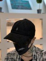 SUS / CORDUROY S CAP / Black×White