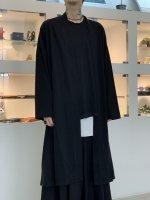 LAD MUSICIAN / 40/1 T-CLOTH FLARE KIMONO CARDIGAN / BLACK