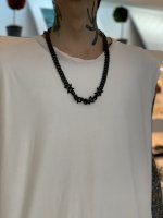LAD MUSICIAN / BARBED WIRE NECKLACE / BLACK