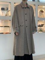 VOAAOV / Soft Wool Twill Long Coat / Beige