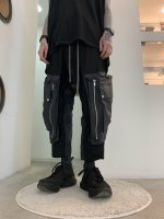 A.F ARTEFACT / Cargo Wide Trousers / Black