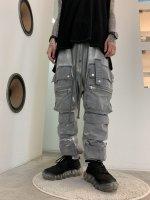 【予約商品】A.F ARTEFACT / DustDyed Military Sarouel Long Pants / 2月発売予定 / 21年 10/31 〆切