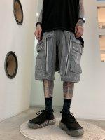 【予約商品】A.F ARTEFACT / Dust Dyed Big Pocket Shorts / 2月発売予定 / 21年 10/31 〆切