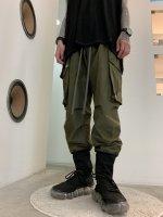 【予約商品】A.F ARTEFACT / Side Zip Johdpurs Long Pants / 2月発売予定 / 21年 10/31 〆切