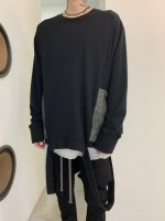 【予約商品】A.F ARTEFACT / Combi Over Sized Pullover / 2月発売予定 / 21年 10/31 〆切