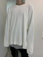 【予約商品】A.F ARTEFACT / Over Sized Knit Pullover / 2月発売予定 / 21年 10/31 〆切