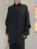 【予約商品】A.F ARTEFACT / Tropical Wool Cocoon Shirts / 2月発売予定 / 21年 10/31 〆切
