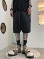 【予約商品】A.F ARTEFACT / Tropical Wool Sarouel Shorts / 2月発売予定 / 21年 10/31 〆切