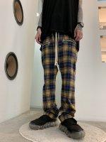 【予約商品】A.F ARTEFACT / Check Sarouel Easy Pants / 2月発売予定 / 21年 10/31 〆切