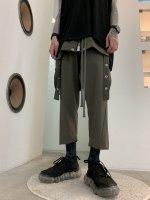 【予約商品】A.F ARTEFACT / Skirt Combi suspenders Pants / 2月発売予定 / 21年 10/31 〆切
