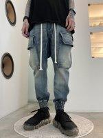 【予約商品】A.F ARTEFACT / Denim Sarouel Long Pants / 2月発売予定 / 21年 10/31 〆切