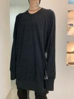 【予約商品】A.F ARTEFACT / Combi Dolman Over Size Pullover / 2月発売予定 / 21年 10/31 〆切