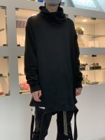 A.F ARTEFACT / Turtle Neck Knit Pullover / Black