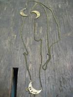 【取り寄せ商品】TROVE / MOON COIN NECKLACE(TRIPLE MOON)(13ACC01)