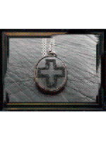 【取り寄せ商品】Varde77×THEFT / CROSS STITCH NECKLACE