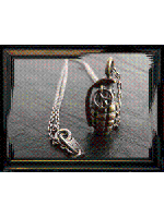【取り寄せ商品】Varde77×THEFT / GRENADE PEACE NECKLACE