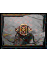【取り寄せ商品】Varde77×THEFT / V - COLLEGE RING 1985