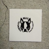 Psychobox / Muu Logo Sticker Ver.(`ω´)