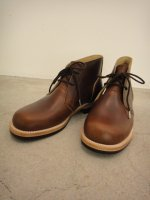 REVIVAL 90% PRODUCTS by Varde77 / US LEATHER CHUKKA BOOTS / BROWN