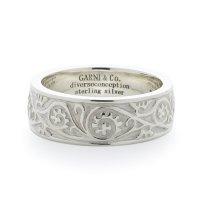 GARNI / Vine Pattern Ring Light / Black & White【取り寄せ商品】
