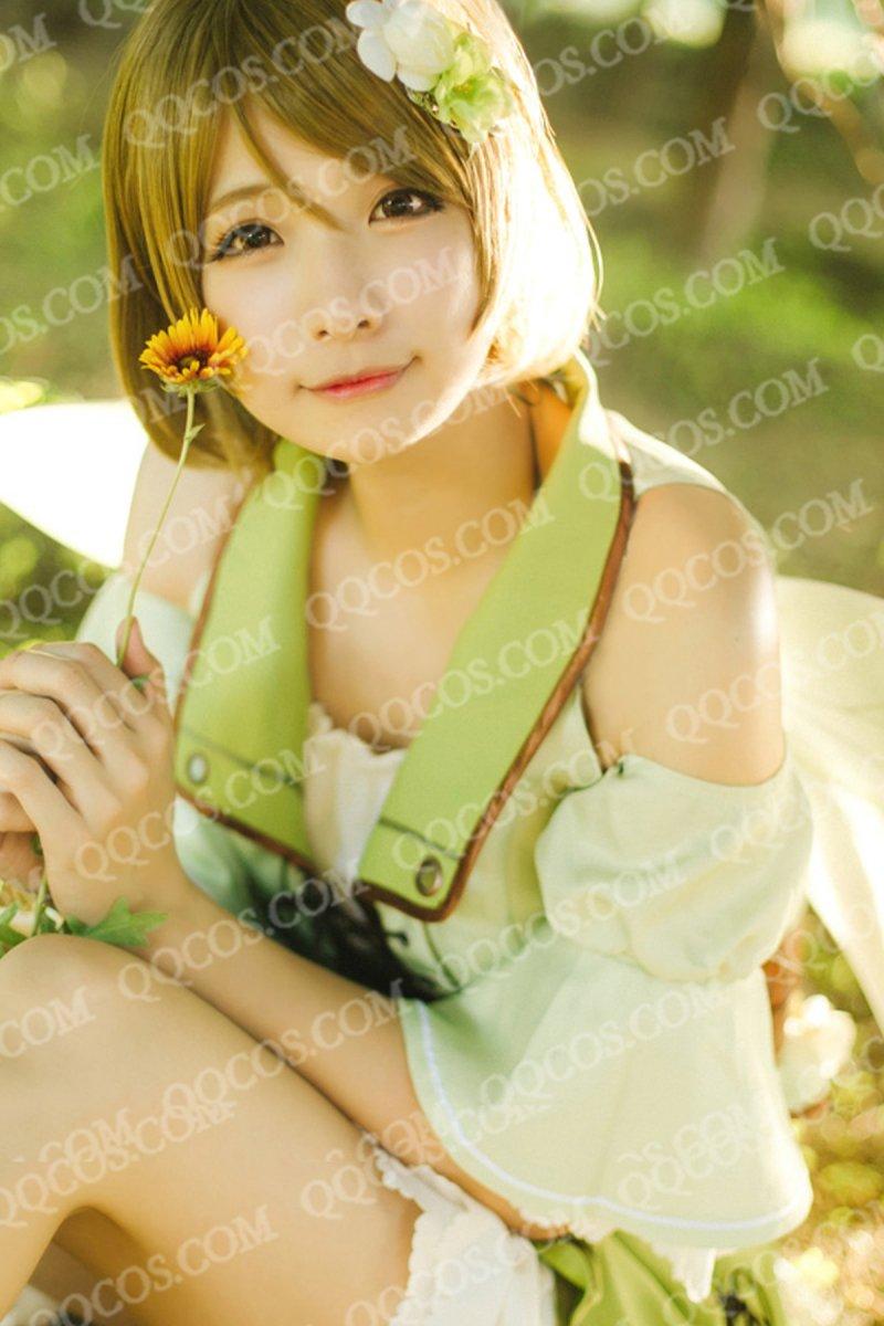 ララブイブ! School idol project風 小泉 花陽(こいずみ はなよ) 妖精の国編 未覚醒 コスプレ衣装 羽つ…