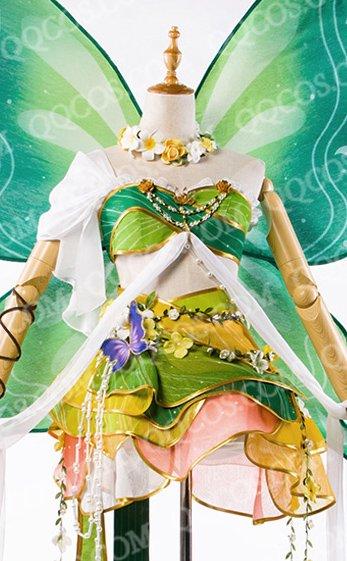 ララブイブ! School idol project風  小泉 花陽(こいずみ はなよ) 新しい花の妖精覚醒 コスプレ衣装