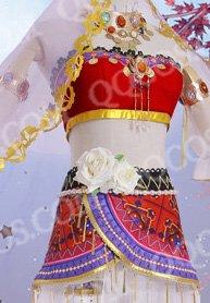 ラブライブ! School idol project風 西木野真姫(にしきの まき) 踊り子編SR 覚醒後 コスプレ衣装