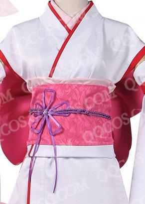 Re:ゼロから始める異世界生活 風  ラム/レム 幼小 着物  コスプレ衣装