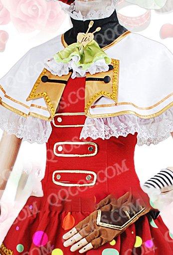 ラブライブ! 赤いバレンタインデー 風 小泉 花陽(こいずみ はなよ) 覚醒後 コスプレ衣装