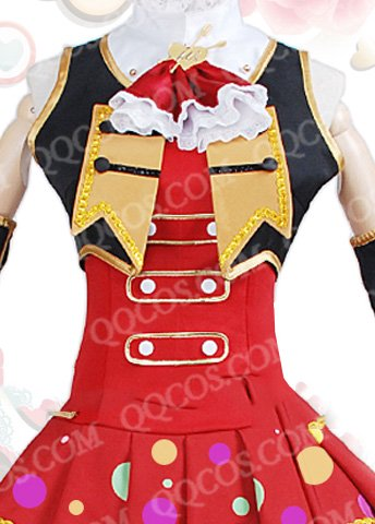 ラブライブ! 赤いバレンタインデー 風 西木野 真姫(にしきの まき) 覚醒後  コスプレ衣装