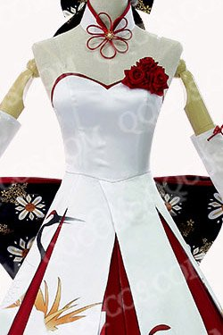 Fate/stay night Fate/zero 風 Saber(セイバー) 鶴風ドレス コスプレ衣装